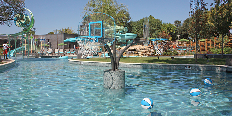Active Play Area at Hilton Anatole