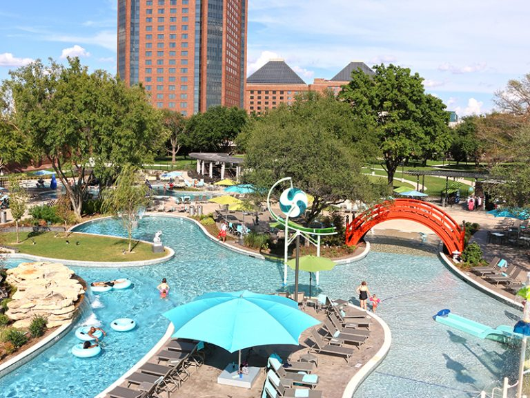 Hilton Anatole JadeWater Resort Waterfront Designed and built by ADG