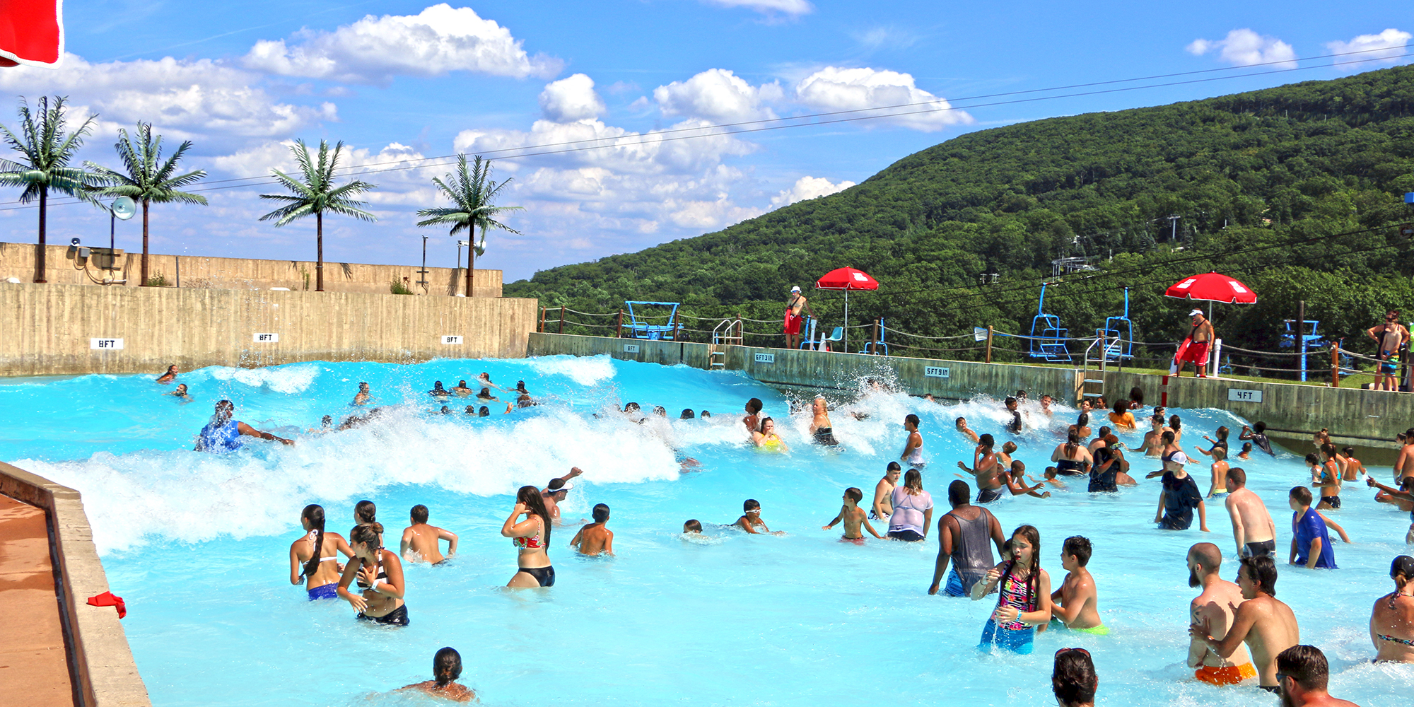 Mountain Water park