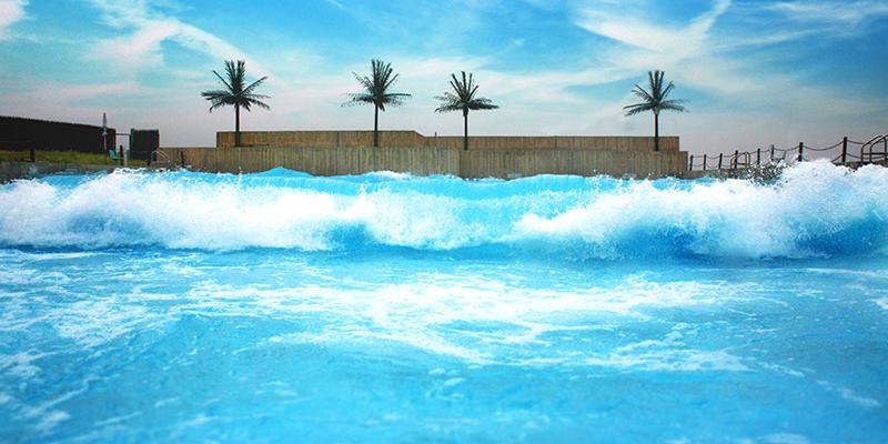 wave pool wavetek generation