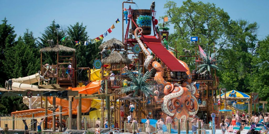Columbus Zoo Multi Level Play Structure