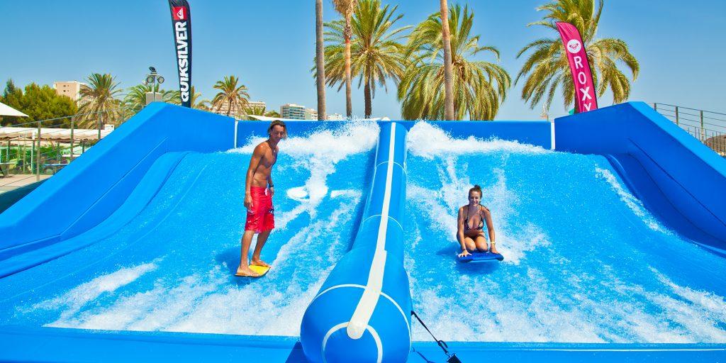 FlowRider Double Surf Simulator