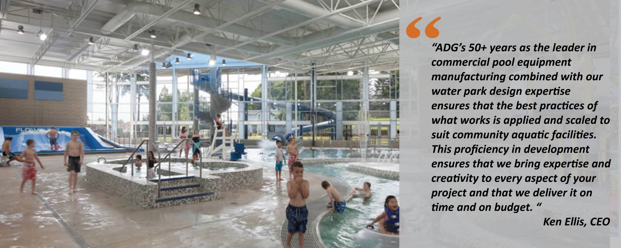 aquatic center water park