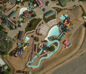 Kentucky Kingdom Aerial