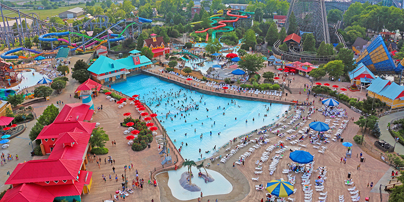 Kentucky Kingdom water park overview