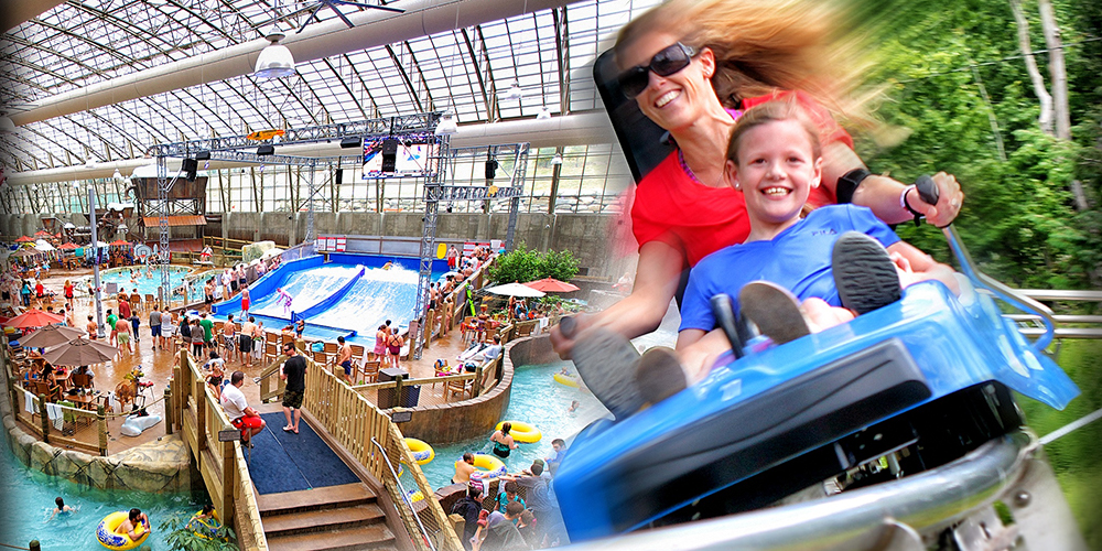 Mountain Sides Coaster and Indoor Waterpark