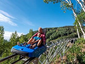 mountain coaster at purgatory mountain