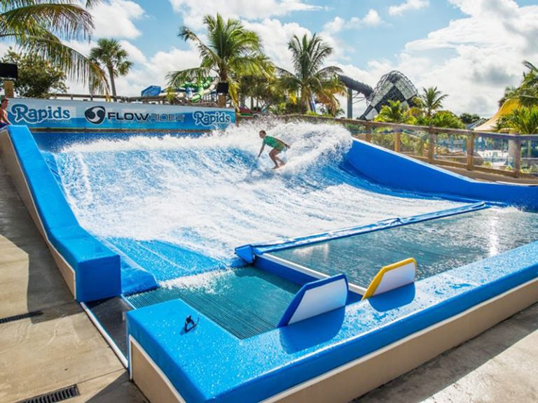 FlowRider Surf Simulator Ride
