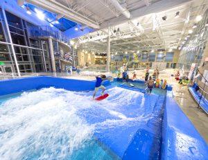 FlowRider at Aquatic Center