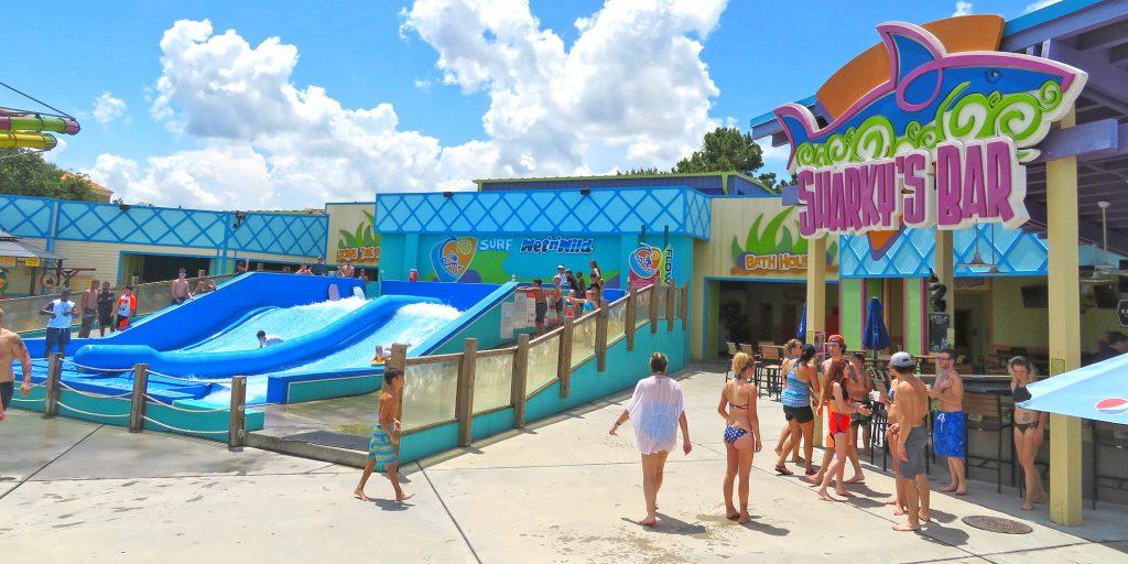 FlowRider Surf Simulator at Wet n Wild Splashtown