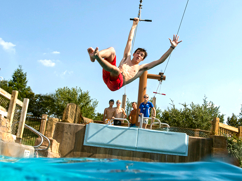 Ziplines of the Pool