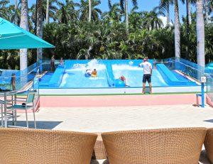 FlowRider surf attraction at resort