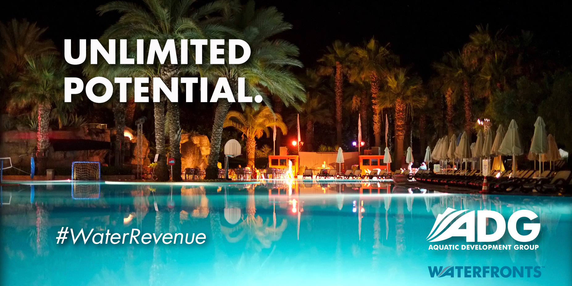 Resort Waterfront Pool Potential