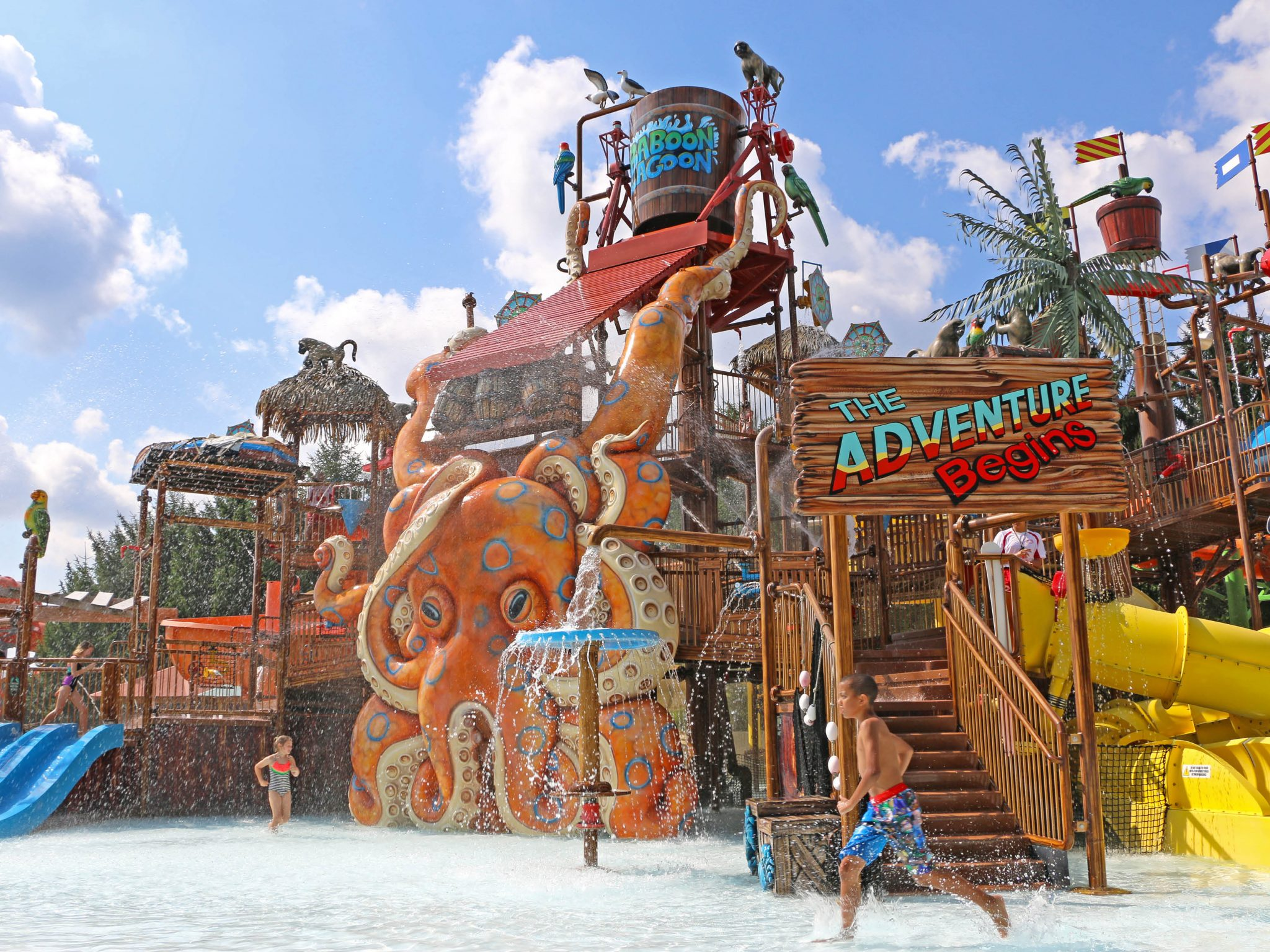 Zoombezi Bay waterpark