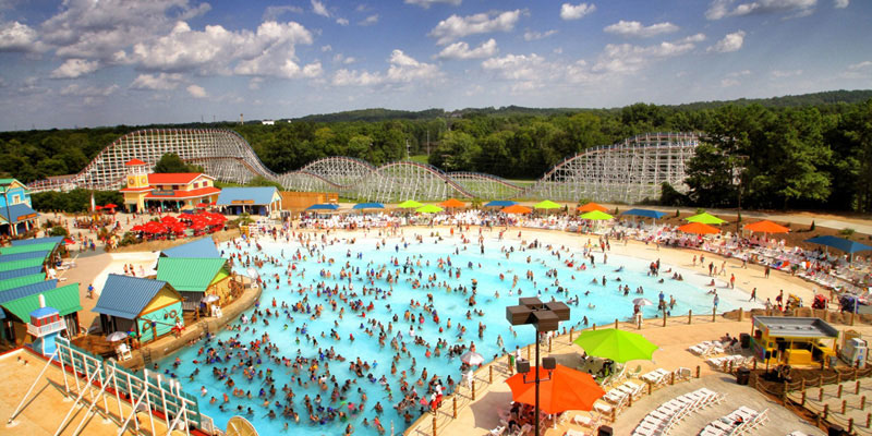 Six Flags Over Georgia Wave Pool