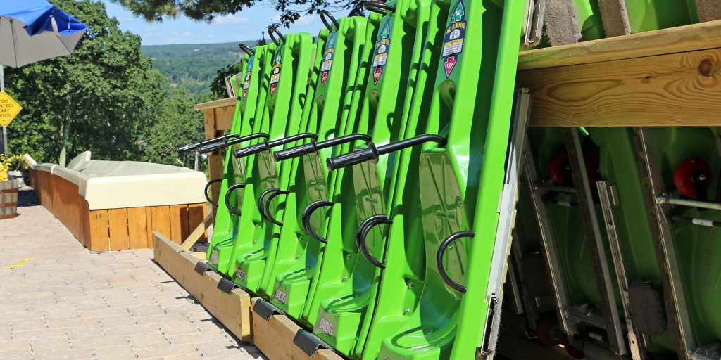 CBK Alpine Mountain Slide Carts