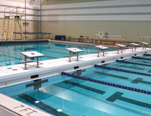 ADG vertical bulkhead for competition pools
