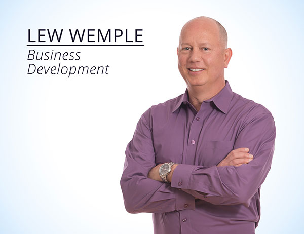 Lew Wemple : Business Development