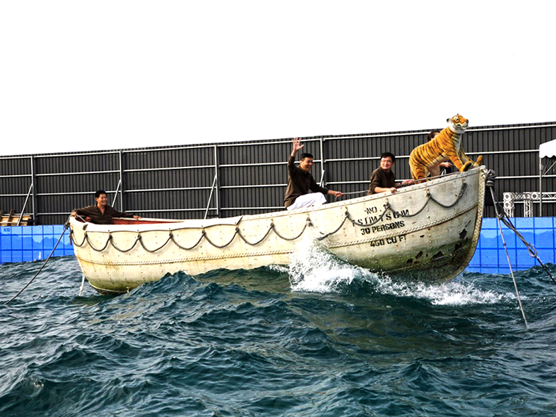 Filming Life of Pi