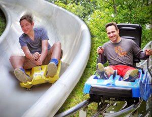 Mountain Coaster and Slide