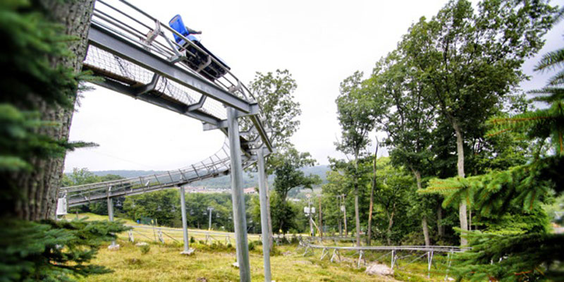 Mountain Coaster Track