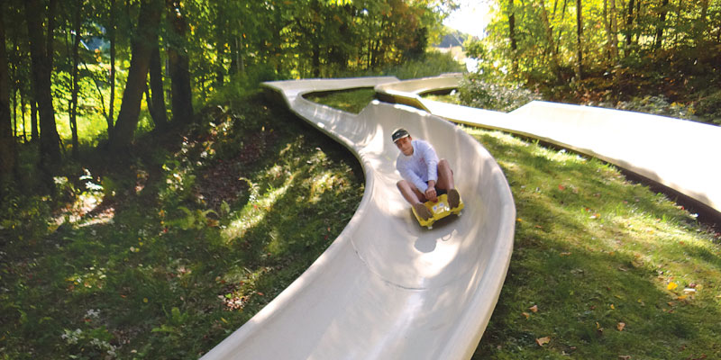 Mountain Slide