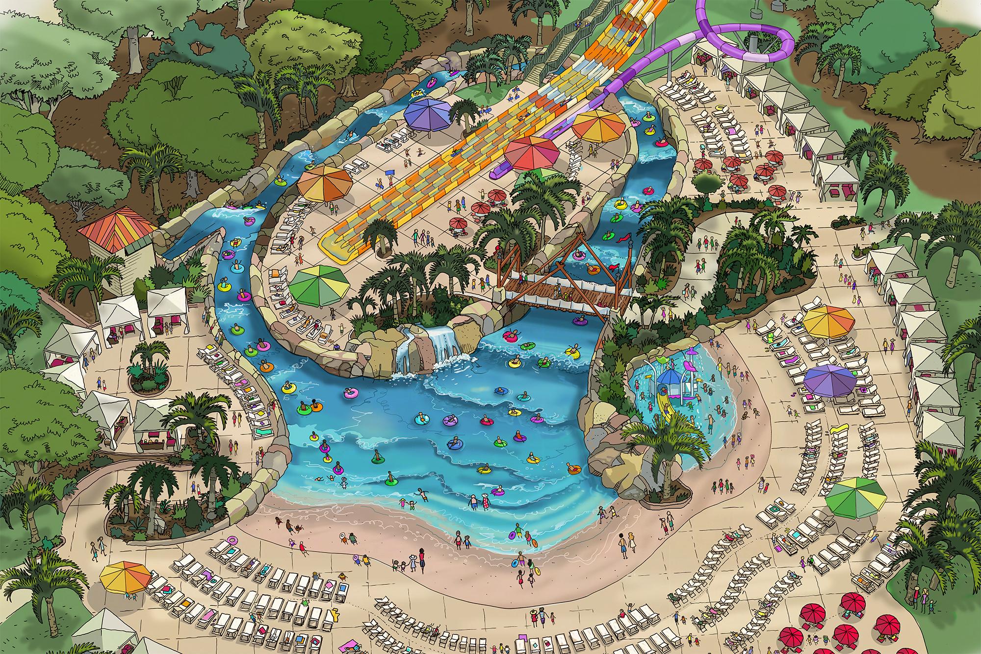 Wave Pool Designs | ADG's Tidal River