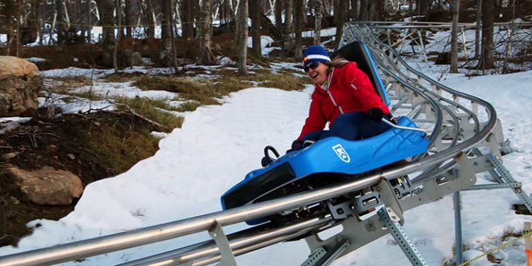 Winter Mountain Coaster