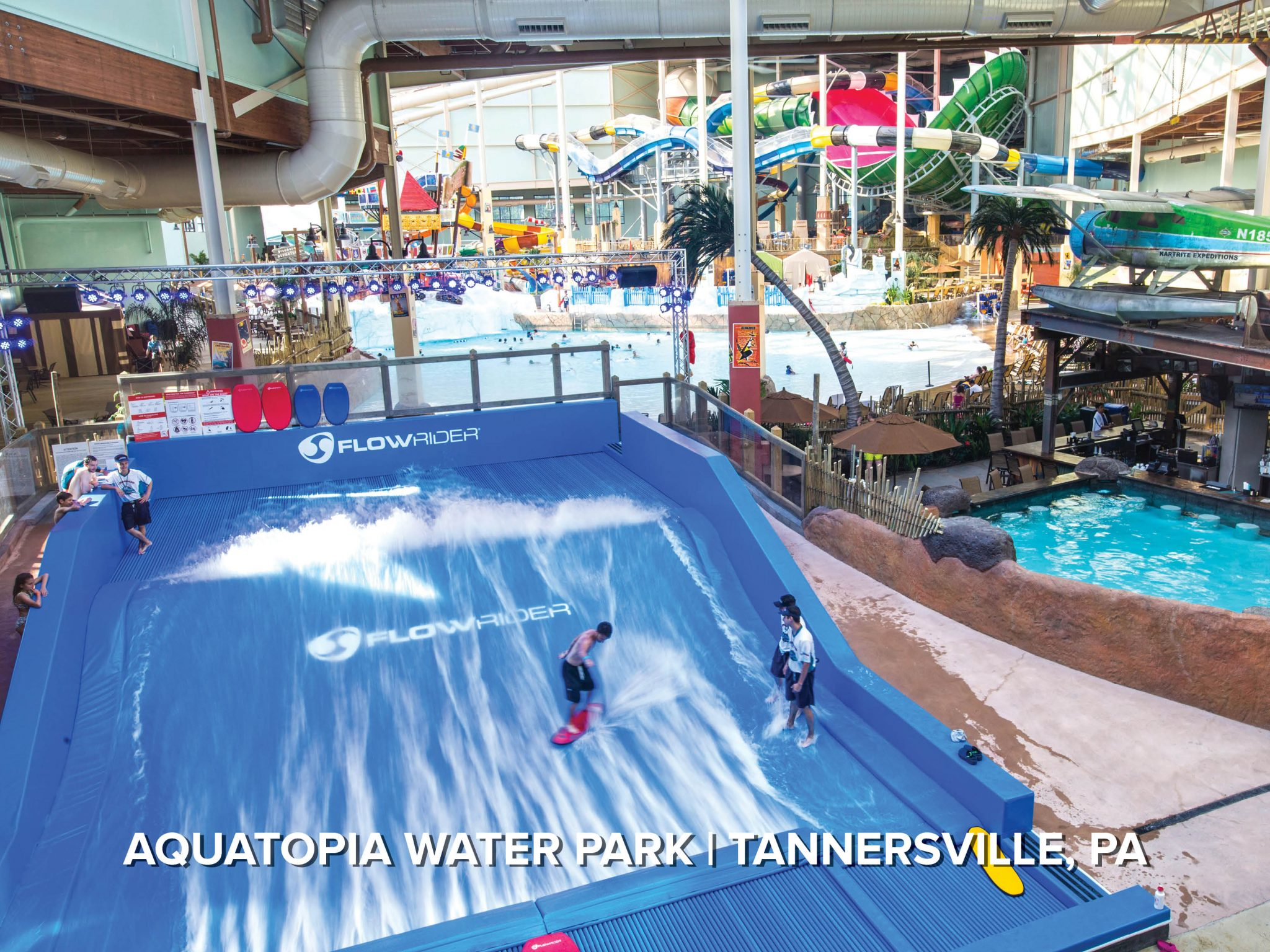 FlowRider double surf ride