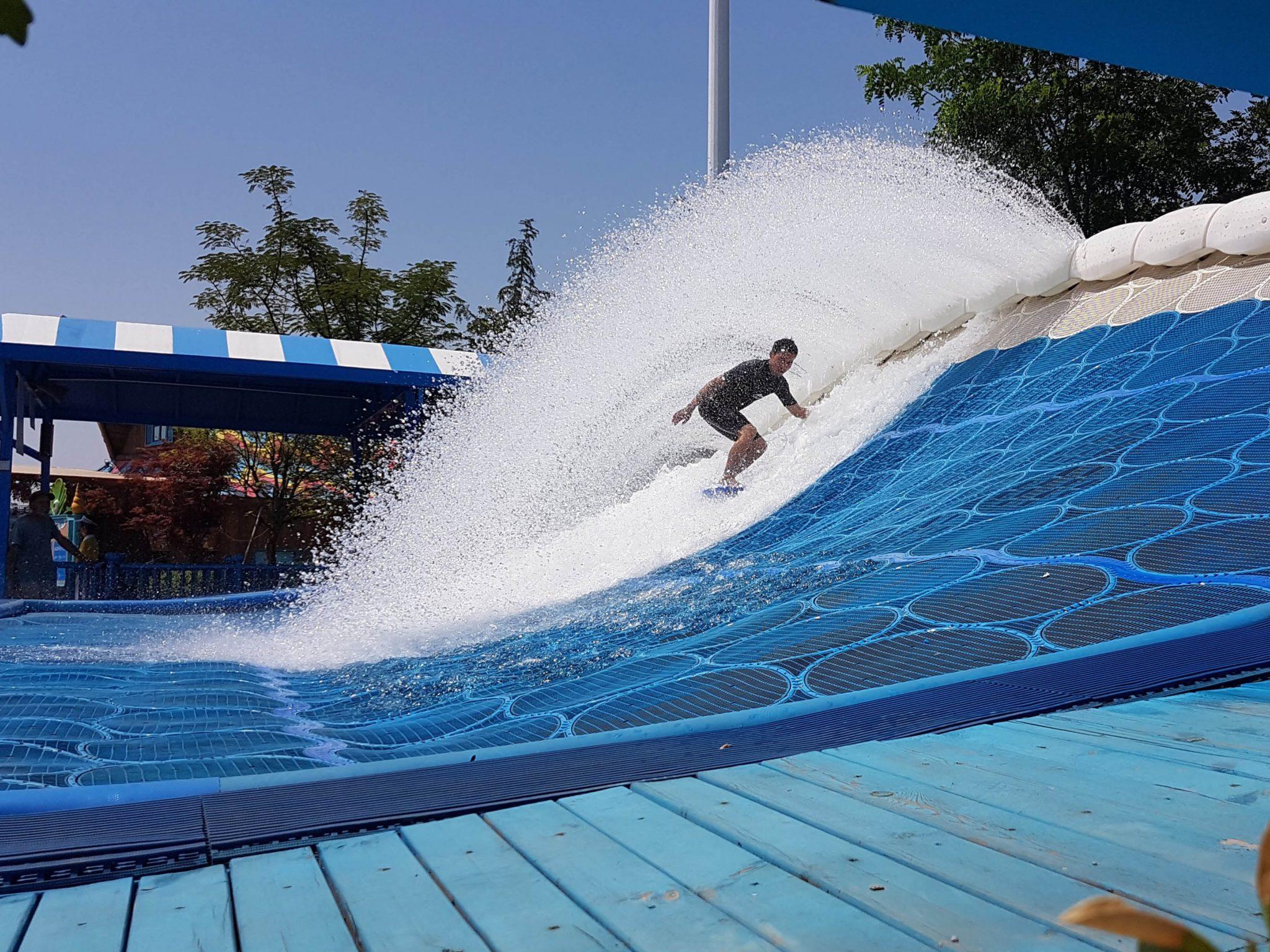 flowrider latitube surf ride
