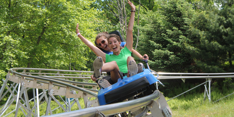 Mountain Coaster Fun
