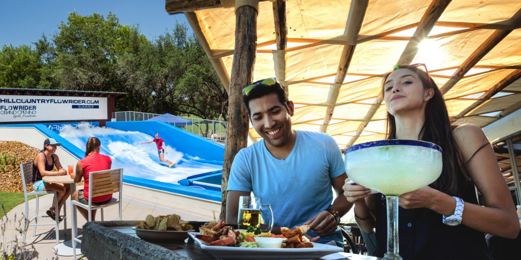 FlowRider Cove Cabana Food and Beverage Revenue