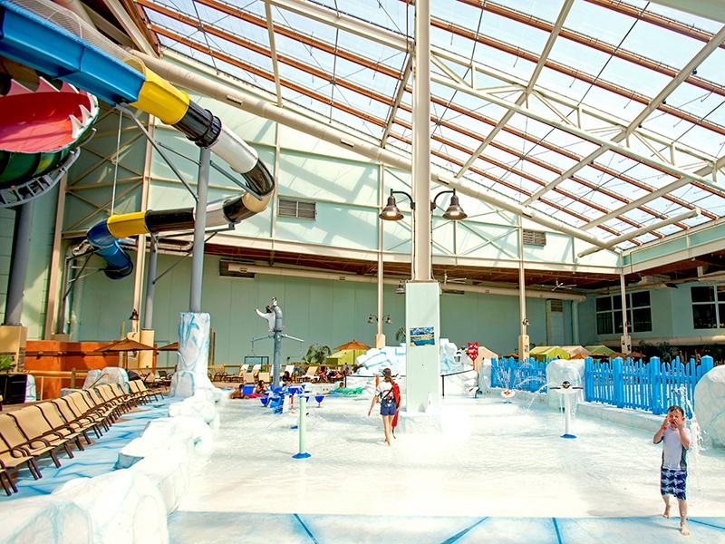 Aquatopia active play area