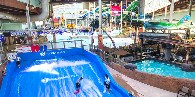 Aquatopia Indoor Water park at Camelback Mountain Resort