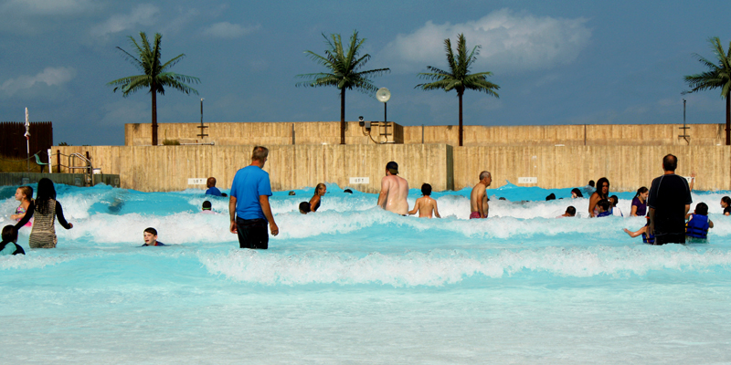 Camelbeach Mountain Waterpark Wave Pool