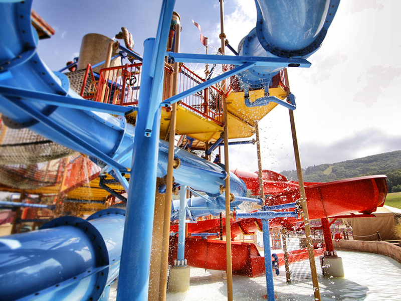 Kids play structure.