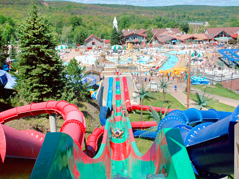 Slides at Camelbeach