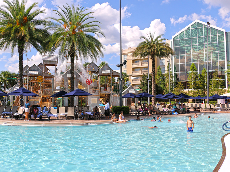 Gaylord Palms Waterfront Resort designed and built by ADG
