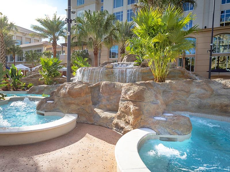 Gaylord Palms expansion resort spa pool