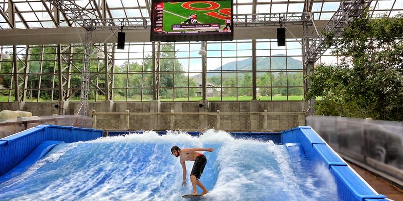 Jay Peak Indoor Waterpark FlowRider