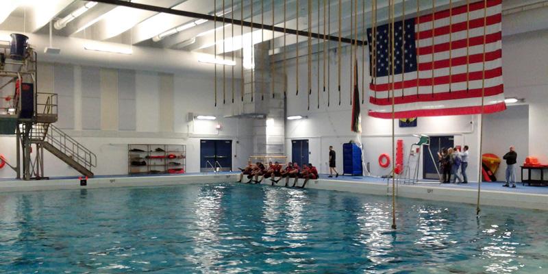 Wave pool design us coast guard case study for Pool design course