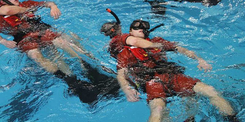 USCG Rough water training