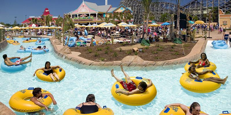 Six Flags Gurnee River