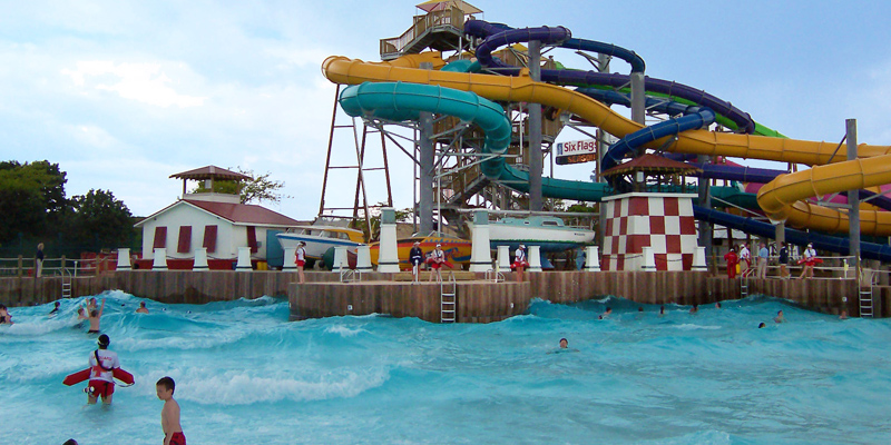 Six Flags Great American Wave Pool