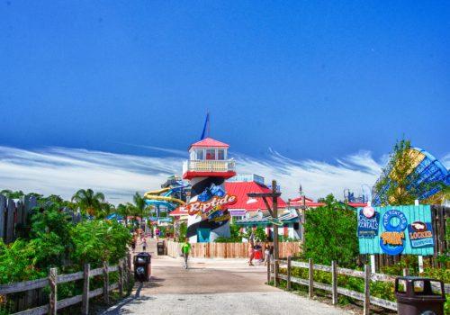 Six Flags Gurnee Entrance