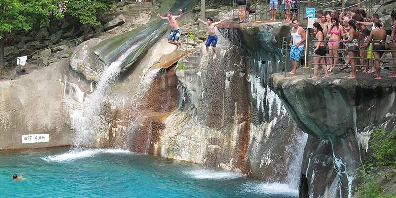 Mountain Creek Cliff Jumping