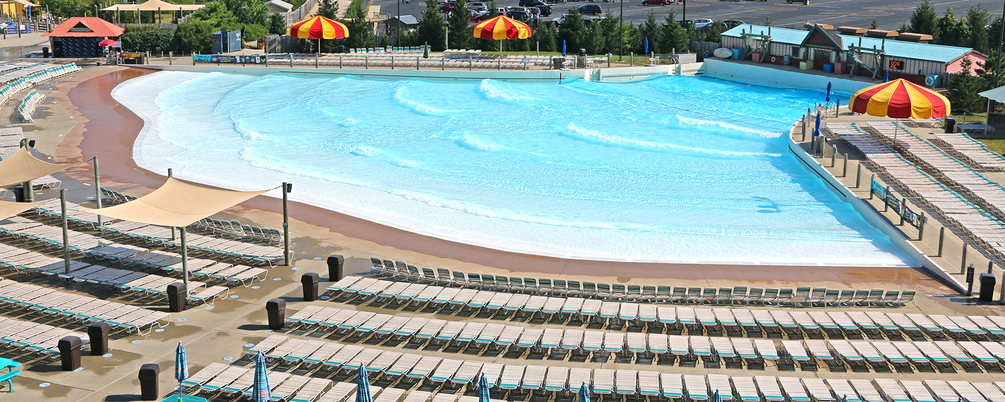 zoombezi bay water park recreational wave pool