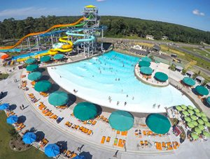 Wave pool configuration