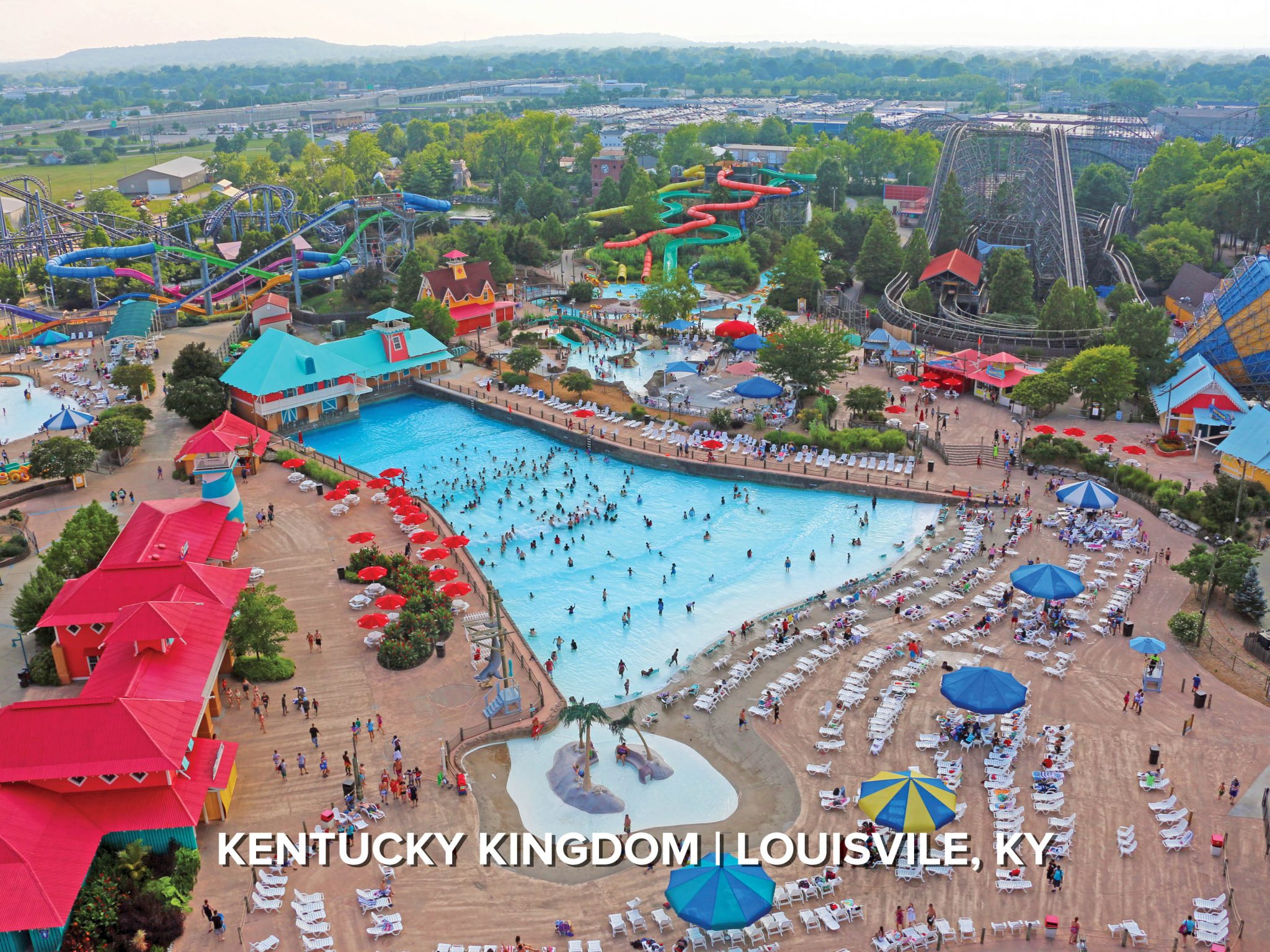 wave pool at kentucky kingdom