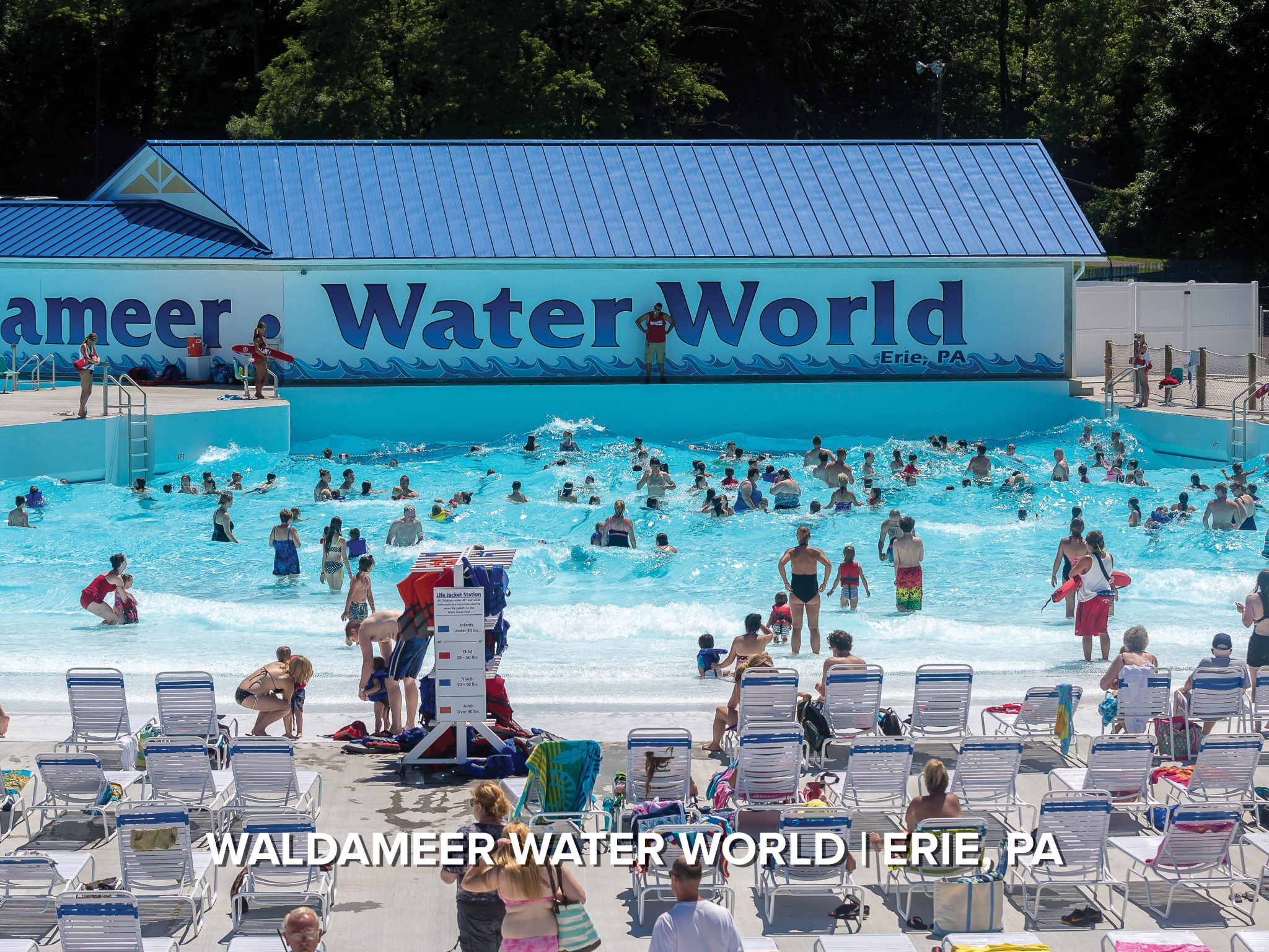 wave pool at waldameer water world